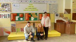 С ръководителя на клуба - ПТГ Васил Левски - град Видин
